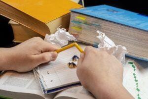 Do psaní není třeba se nutit
